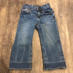 Joe's jeans toddler raw hem jeans